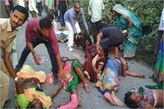 in rae bareli accident death number increased to 9 condition of 6 serious