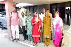 people met from dc to open the path of harijan basti