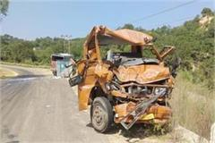 haroli road accident one injured