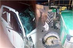 3 injured including woman in 2 different road accidents