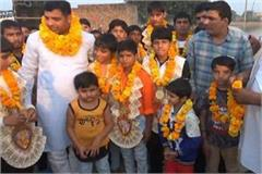 haryana boys win gold at sub junior wrestling national championship