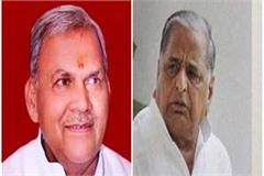 sp mp chaudhary sukhram said mulayam is my leader and will always be