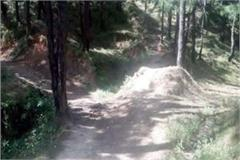 this village of chamba does not get the road facility