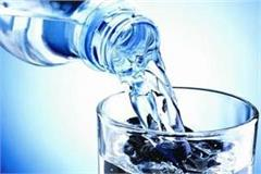 mineral water drinkers read this news