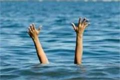 death of youth in drowning in ganga