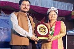 mrs india gutsy goddess sulakshna jaswal honored