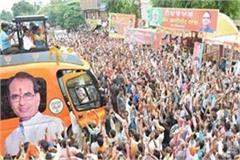 after  jan aashirabad  shivraj will start the  jananday yatra