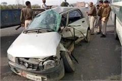 truck trolley kills car tremendous collision