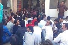bjp councilor beaten sub inspector of police