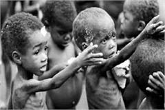 the number of children suffering from malnutrition