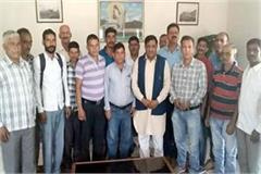 mla meeting with iph drinking water will strong in baijnath