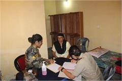 army s rising star gunner checks people s health