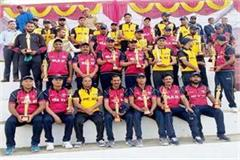 mla xi won match by defeating dc xi by 6 wickets