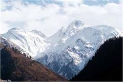 snowfall on the high hills of bharmour including manimahesh