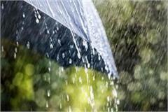possibilty of rain in himachal for 3 days