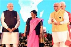 haryana get first rural cleanliness award by pm modi
