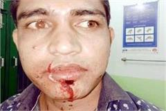 attack with sharp weapon on taxi driver
