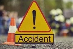 sujanpur road accident 2 injured