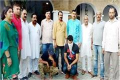 noorpur heroin 2 persons arrested