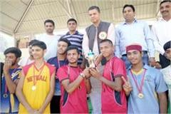 mandi occupy the overall trophy in netball competition