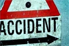 painful incident on highway death of cycle rider by collision of car