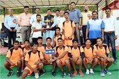 rohru in volleyball bilaspur state champion in kabaddi
