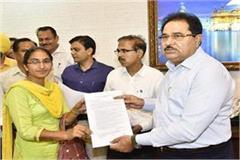 education minister soni handed over appointment letters to teachers