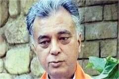 sukhram s personal feelings for demanding ticket for grandson
