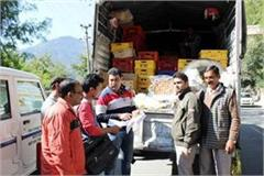 60 kg of sweets caught from milk vehicle