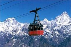 formalities of rohtang rope way is complete
