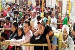 50 thousand devotees reached court of maa nainadevi