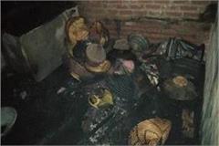 10 year old child dies due to fire in sant kabir nagar