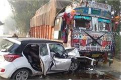 dangerous road accident on jind kaithal road