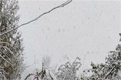 fresh snowfall in lahaul valley