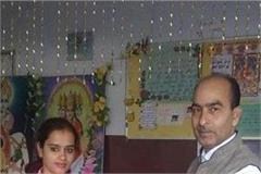 topper daughter anjali gets honor in school