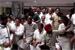 ajay chautala reached meet to party workers