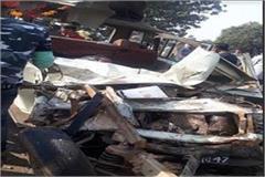 6 children dead including a bus driver school bus driver in satna