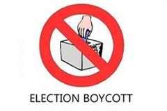 election boycott in these 2 villiages
