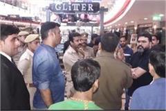 varanasi the main accused firing at jhv mall arrested from bihar