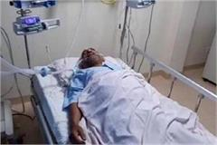 sp leader ram govind chaudhary condition is fragile