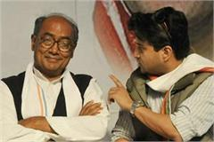 front of rahul gandhi digvijay and scindia do not have to