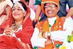 cm is twice as rich as shivraj his wife sadhana