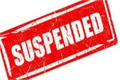 negligence in election work dearness inspector suspended