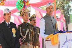 50th himachal police sports meet begins governor inaugurated