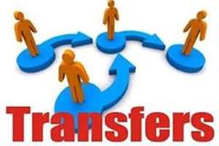 3 ias and 4 pcs officers transferred from up