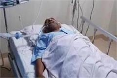 ram govind chaudhary s condition is extremely fragile