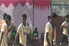 starting state level football championship in nahan
