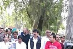 when the congress planted slogans of narendra modi zindabad in una