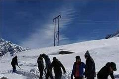 rohtang in snowy winds made passenger for interruption