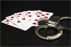 5 person arested while playing gambling in indora